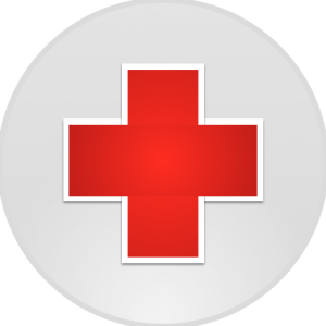 RedCross Vet Dr Mollie Emergency Symbol